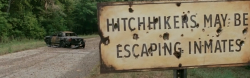The Walking Dead S04E10 - Hitchhikers May Be Escaped Inmates Sign