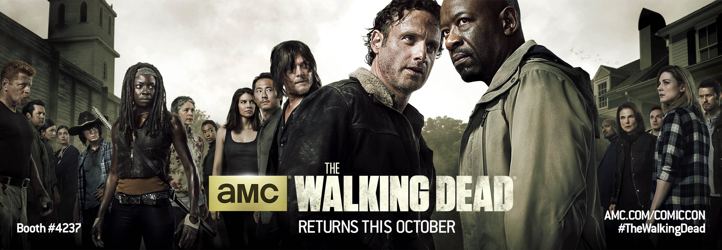 TheWalkingDeadSeason6 Poster for ComicCon